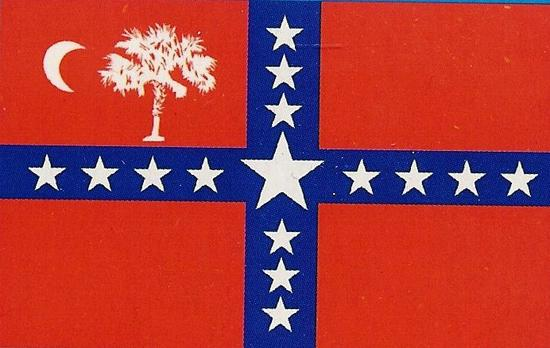 South Carolina Sovereignty Confederate Civil War Flag